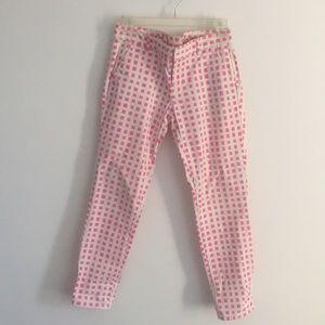 GAP Skinny Mini Color Block Pants